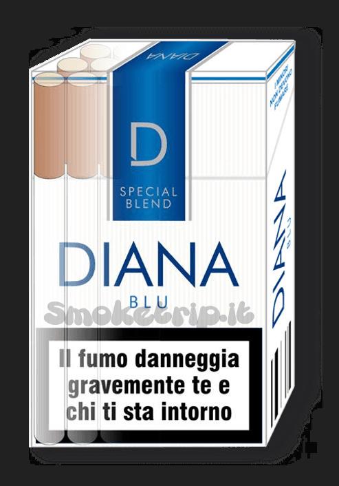 Sigarette Diana Blu