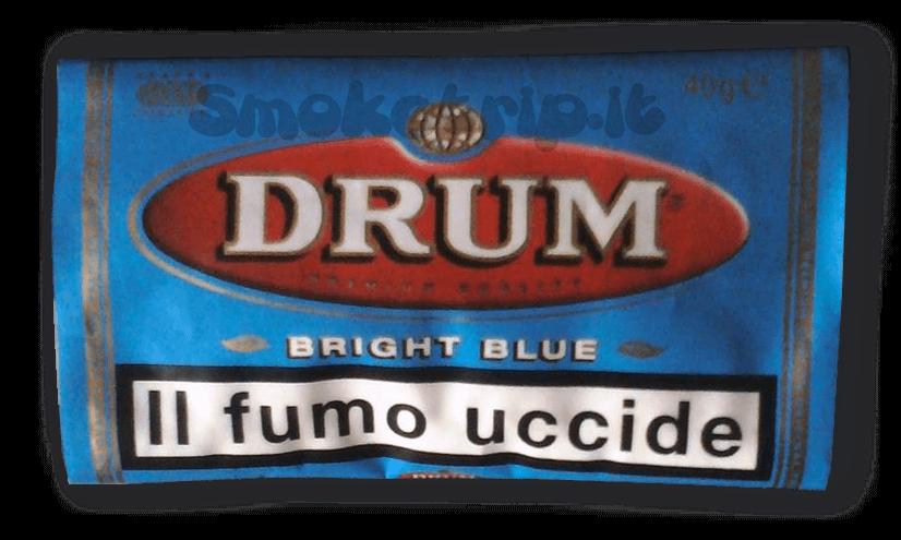 Tabacco Drum Bright Blue