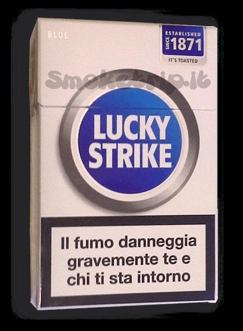sigarette luckt strike blu