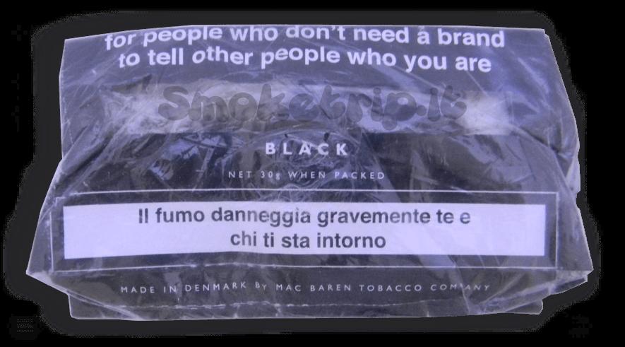 tabacco senza nome nero
