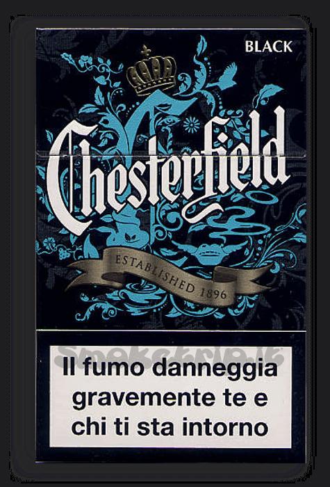 Sigarette Chesterfield Black