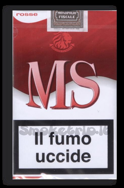 sigarette ms rosse