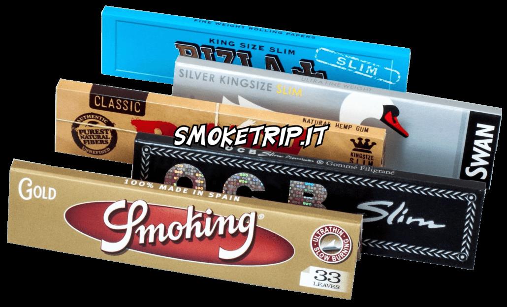 Cartine X Tabacco.Cartine Lunghe Per Canne Cannoni Fumo Marijuana Spinelli