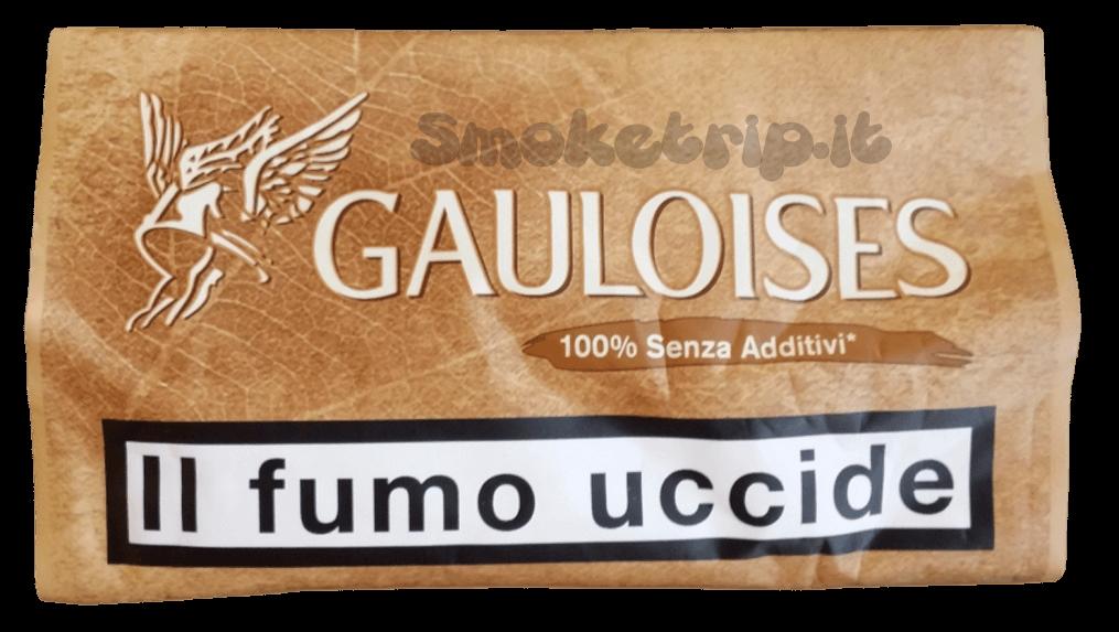 tabacco gauloises 100% senza additivi