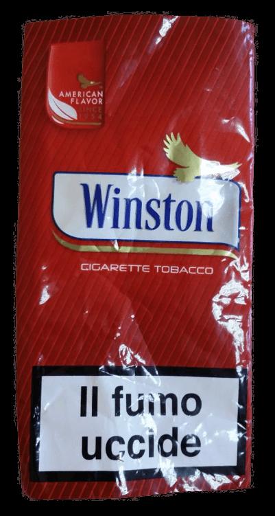 tabacco winston rosso