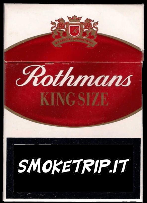 Sigarette Rothmans Rosse