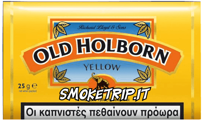 Tabacco Old Holborn Giallo
