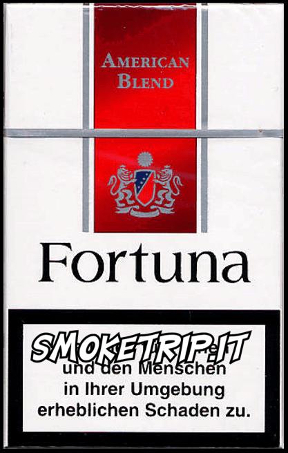 Sigarette Fortuna Rosse
