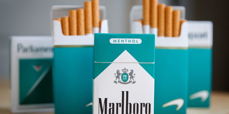 sigarette menta
